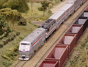 Amtrak's Capitol Limited at Ballbach Estates